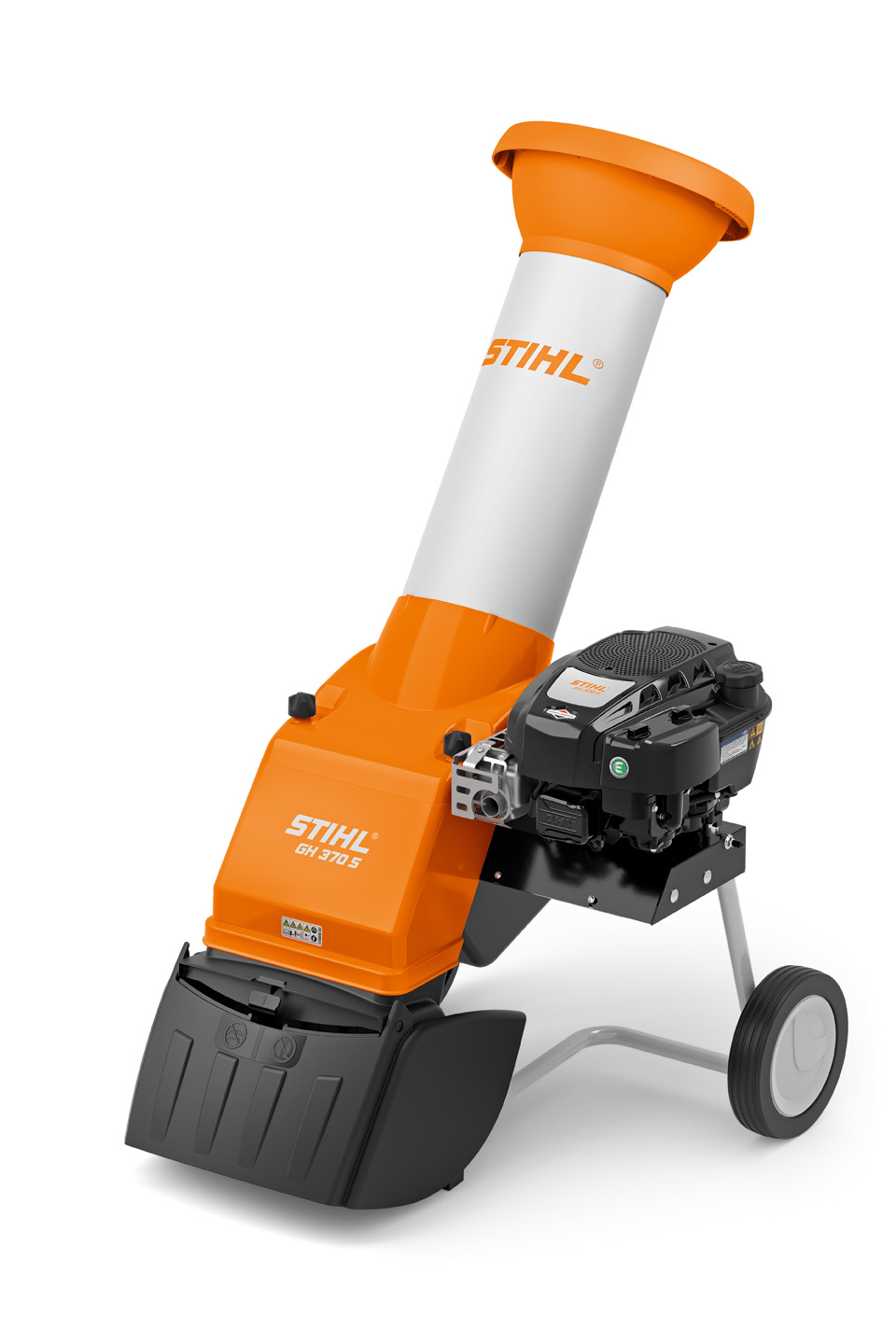 GH 370 S - POWERFUL PETROL CHIPPER FOR MOBILE USE AROUND THE GARDEN