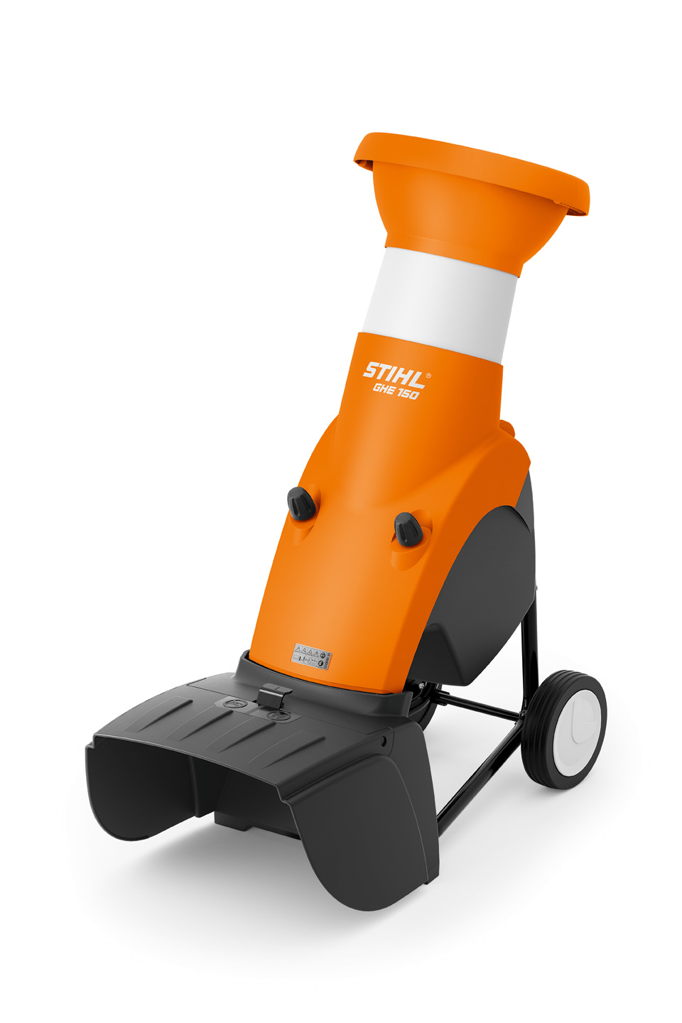GHE 150 - ELECTRIC GARDEN CHIPPER WITH CLOVERLEAF OPENING