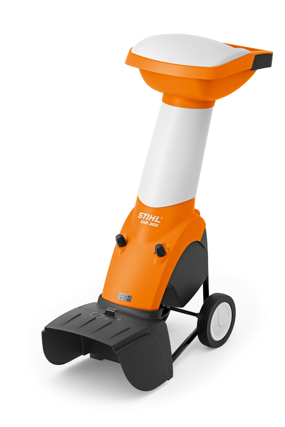 GHE 355 - POWERFUL ELECTRIC COMBINATION CHIPPER/SHREDDER