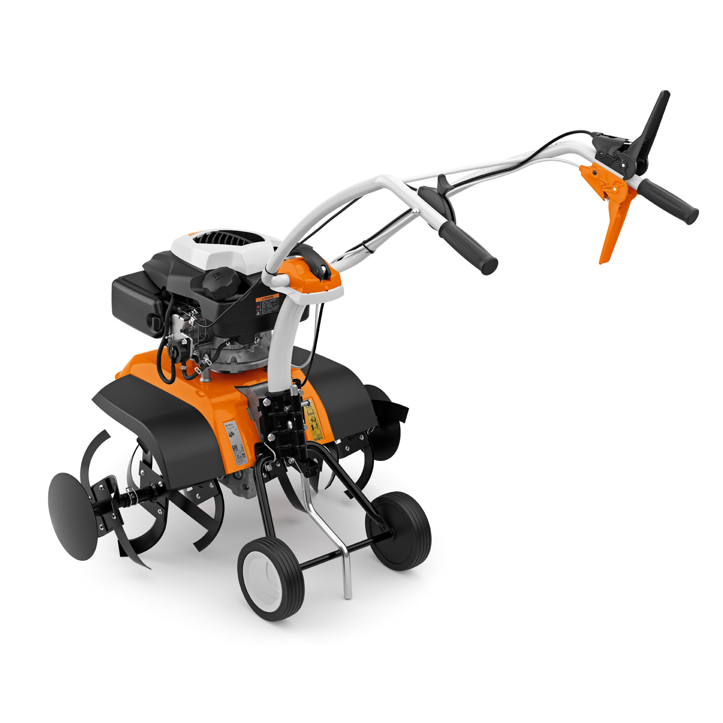 MH 585 - POWERFUL PETROL TILLER FOR LARGE AREAS