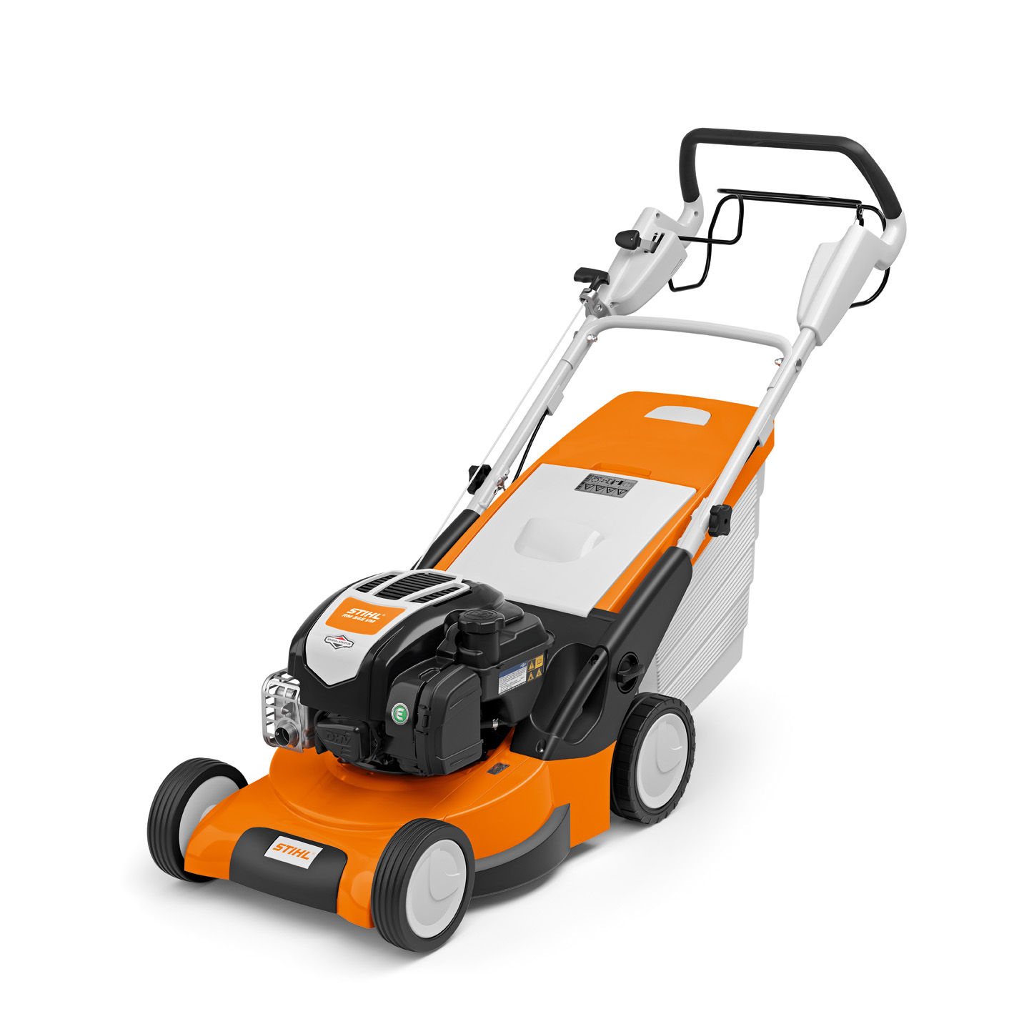 RM 545 VM - POWERFUL SELF-PROPELLED PETROL LAWN MOWER WITH MULCHING FUNCTION AND VARIO DRIVE