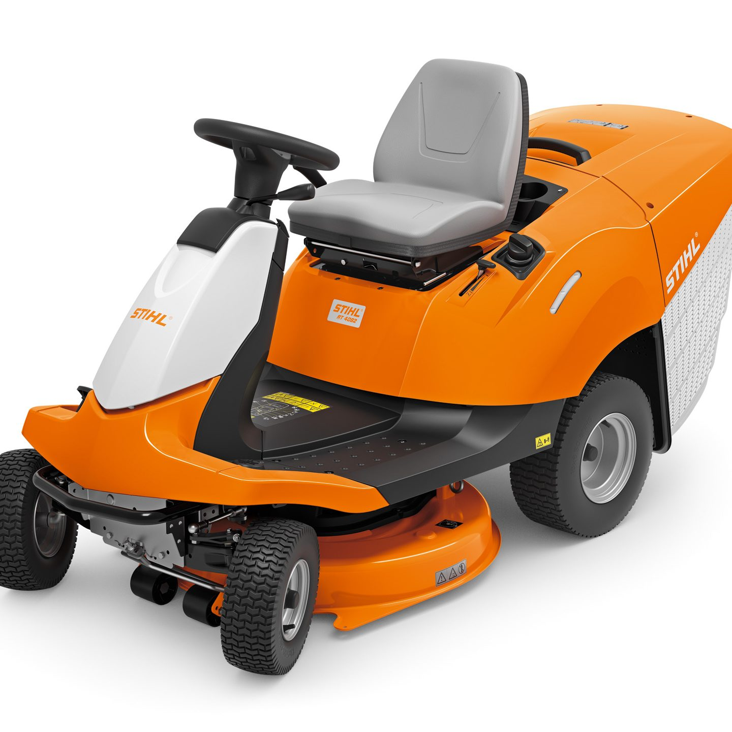 RT 4082 - HIGHLY MANOEUVRABLE RIDE-ON MOWER