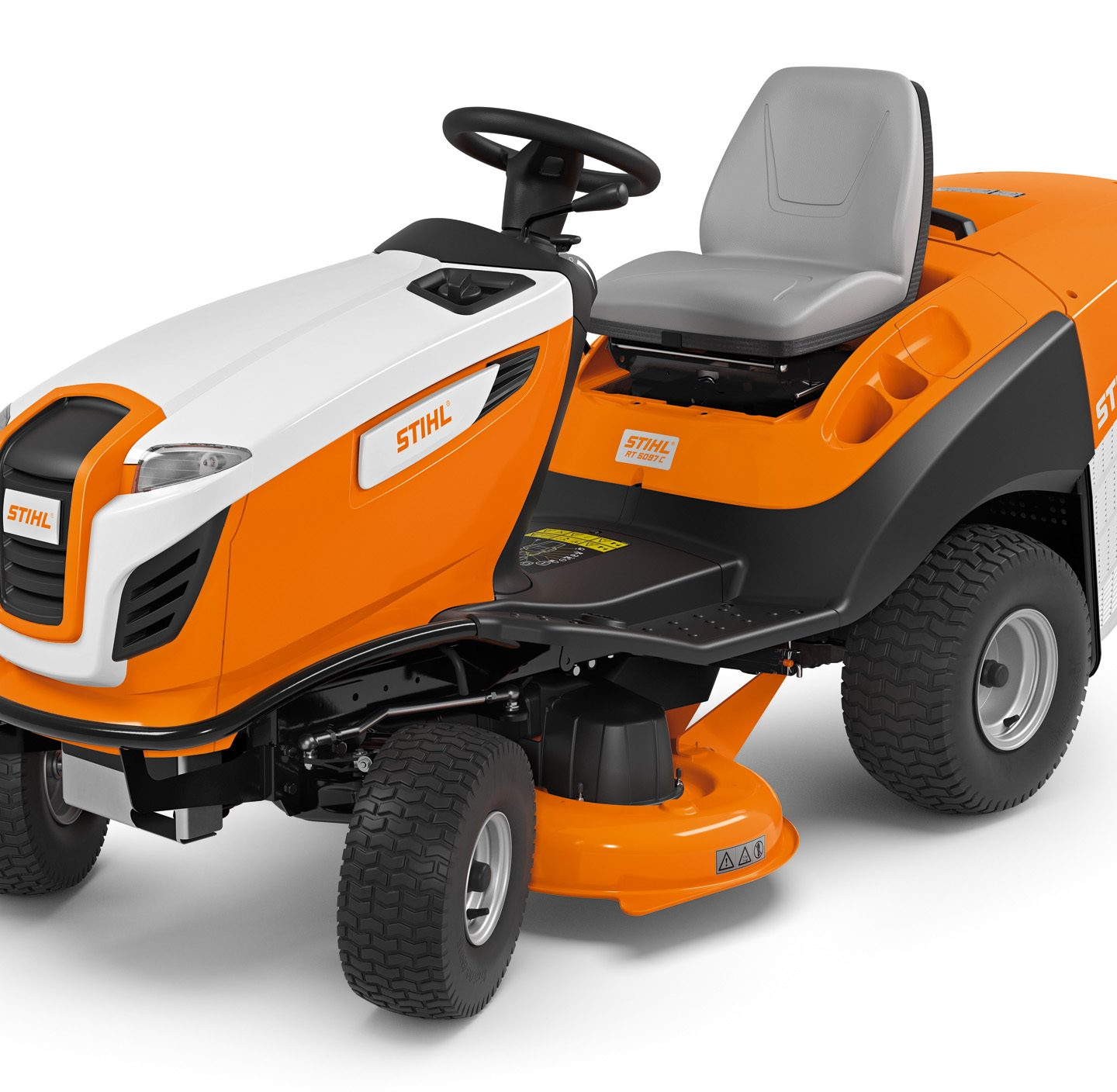 RT 5097 C - COMPACT LAWN TRACTOR WITH EXCELLENT MOWING PERFORMANCE